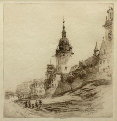 Frederick Arthur Farrell (1882-1935) Bastion Władysława IV na Wawelu