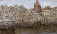 Targ Rybny w Gdańsku, 1918 r.