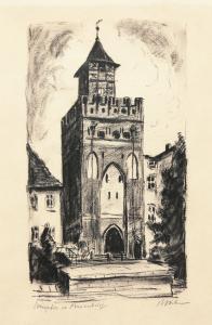 Wieża Mariacka w Malborku