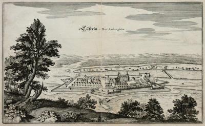 Matthäus Merian (1593-1650) Cüstrin, zur Andern Seiten