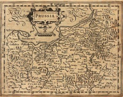 Gerardus Mercator (1512-1594) Jodocus Hondius (1563-1612) Prussia