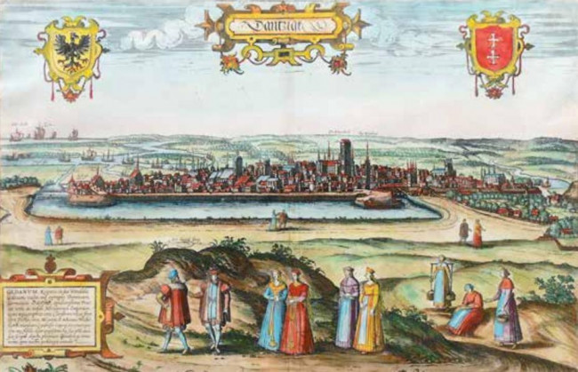 Old Gdansk and surroundings
