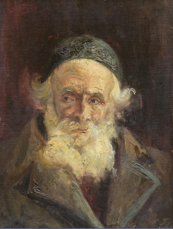 Portret starego Żyda