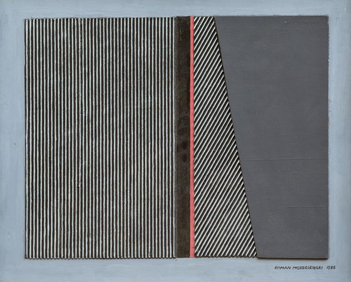 Kompozycja fakturalna, 1988 r.