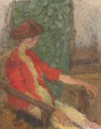 Dziewczyna w czerwonym kaftaniku, 1963