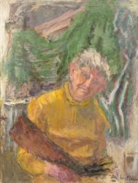 Autoportret, 1975 r.
