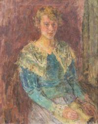 Portret młodej damy