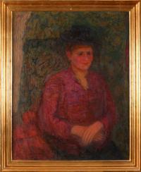 Portret Franciszki Zolich, 1947