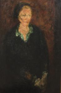 Femme au chemisier vert, ok. 1930