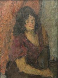 Portret kobiety, ok. 1960