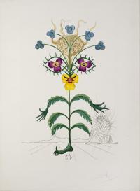 Myśl, z cyklu Flora Dalinae, 1969