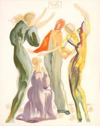 Boska Komedia, Les Servantes, Pieśń CI