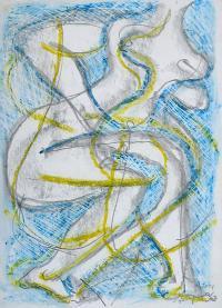 Z cyklu Rysunki erotyczne, 2001