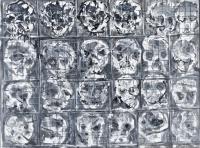 Głowy, z cyklu Inżynieria genetyczna 3, 1990