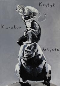 Piramida zwierząt na podstawie pracy Katarzyny Kozyry, 2009