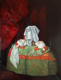 Infantka Małgorzata / Piękno zakryte / Tribute to Diego Velasquez and Christo, 2012