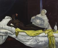 Olimpia / Nice present / Piękno Zakryte / Tribute to Eduard Manet and Christo, 2012