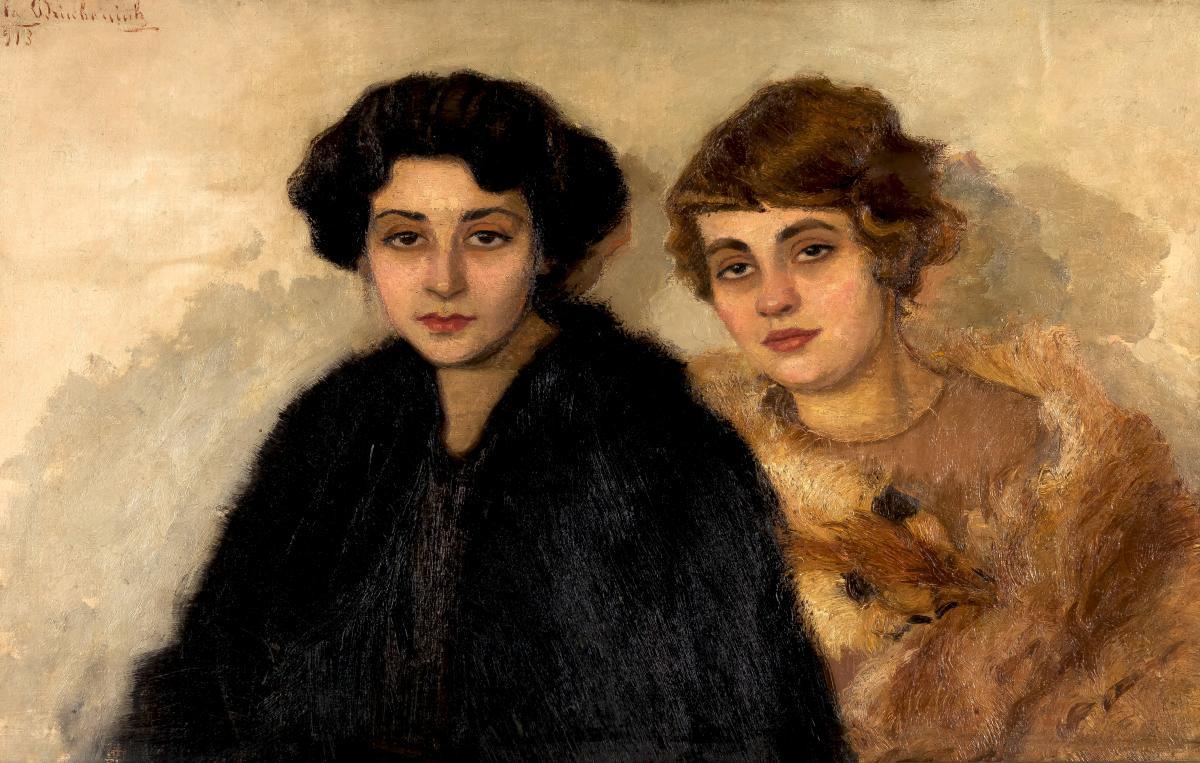 Przyjaciółki, 1913 r.