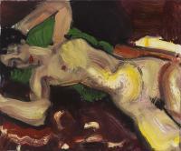 Naga leżąca, hołd dla Amedeo Modiglianiego / Piękno Zakryte /z cyklu Piękno w sztuce, 2012