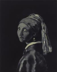 Dziewczyna z perłą / Piękny obraz do loftu / z cyklu Piękno w sztuce / tribute to Jan Vermeer, 2013