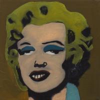 Marilyn Monroe / Tribute to Andy Warhol / Piękno Zakryte z cyklu Piękno w sztuce, 2012