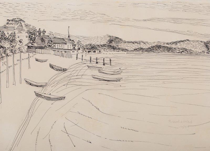 Nad brzegiem III, 1949 r.