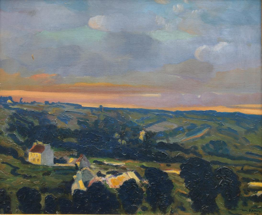 Pejzaż, 1910 r.