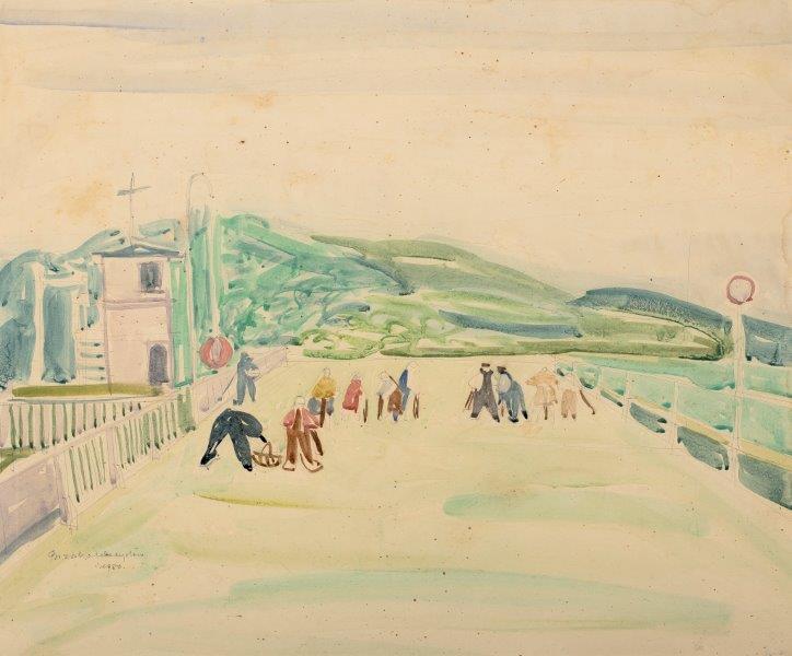 Wyścigi Sopot, 1950 r.