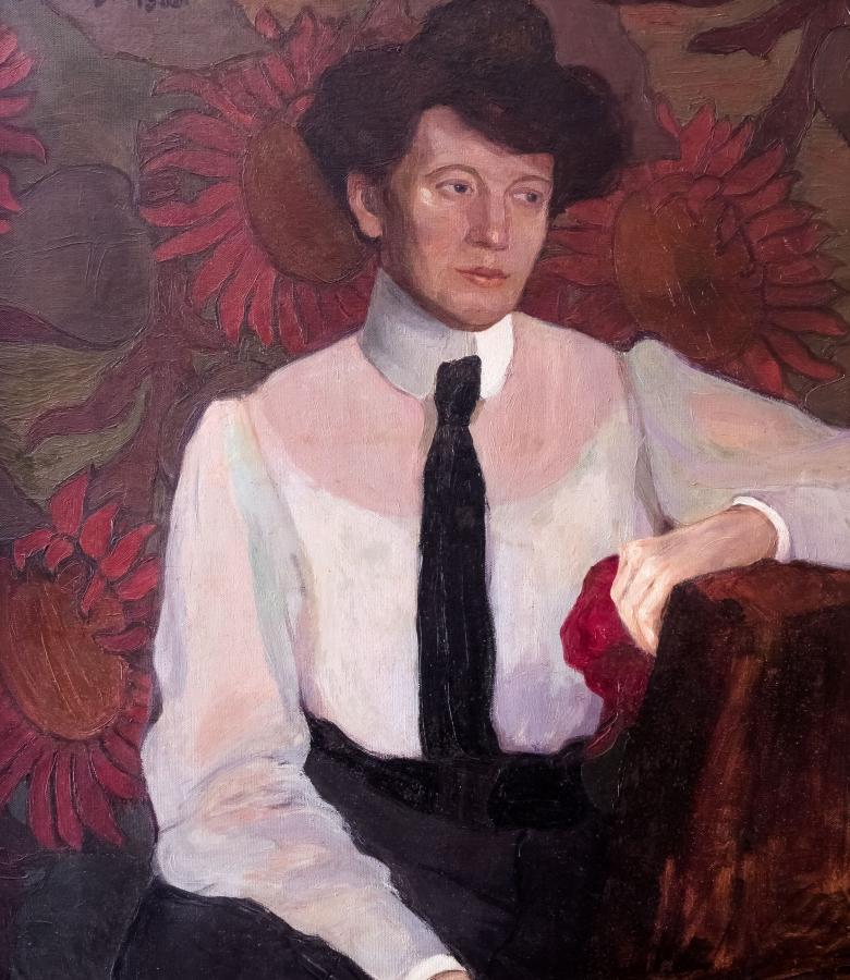 Portret kobiety, 1906 r.