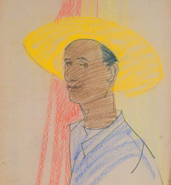 Autoportret w żółtym kapeluszu