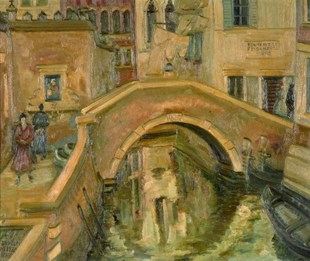 Ponte Moro w Wenecji, 1930 r.