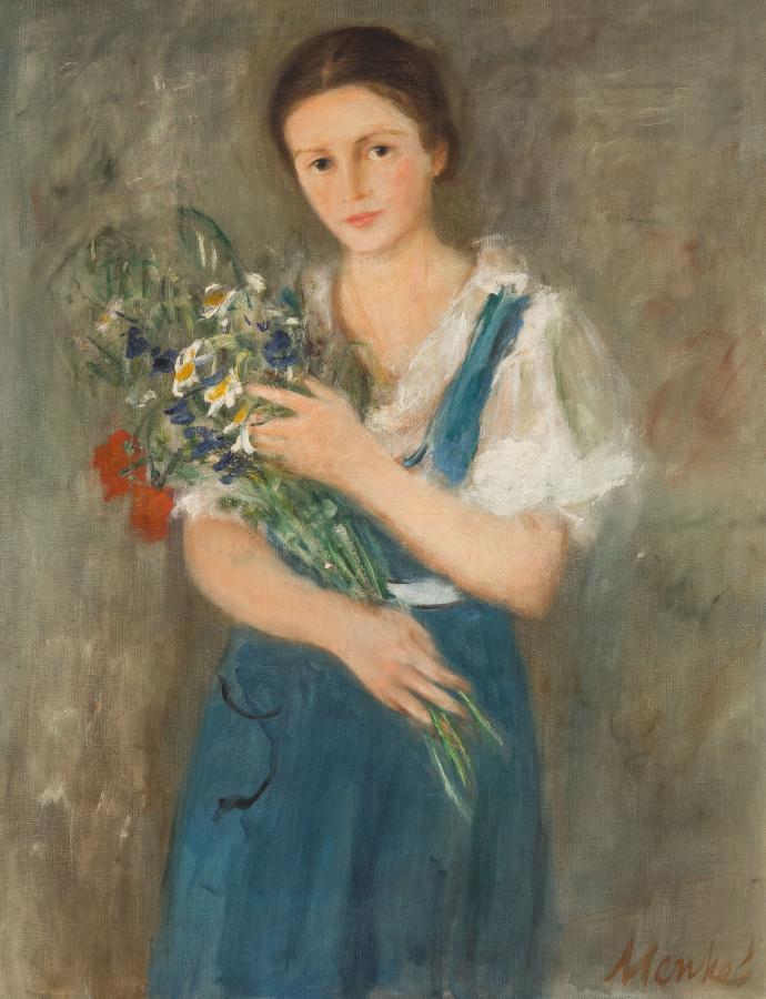 Dziewczyna z kwiatami