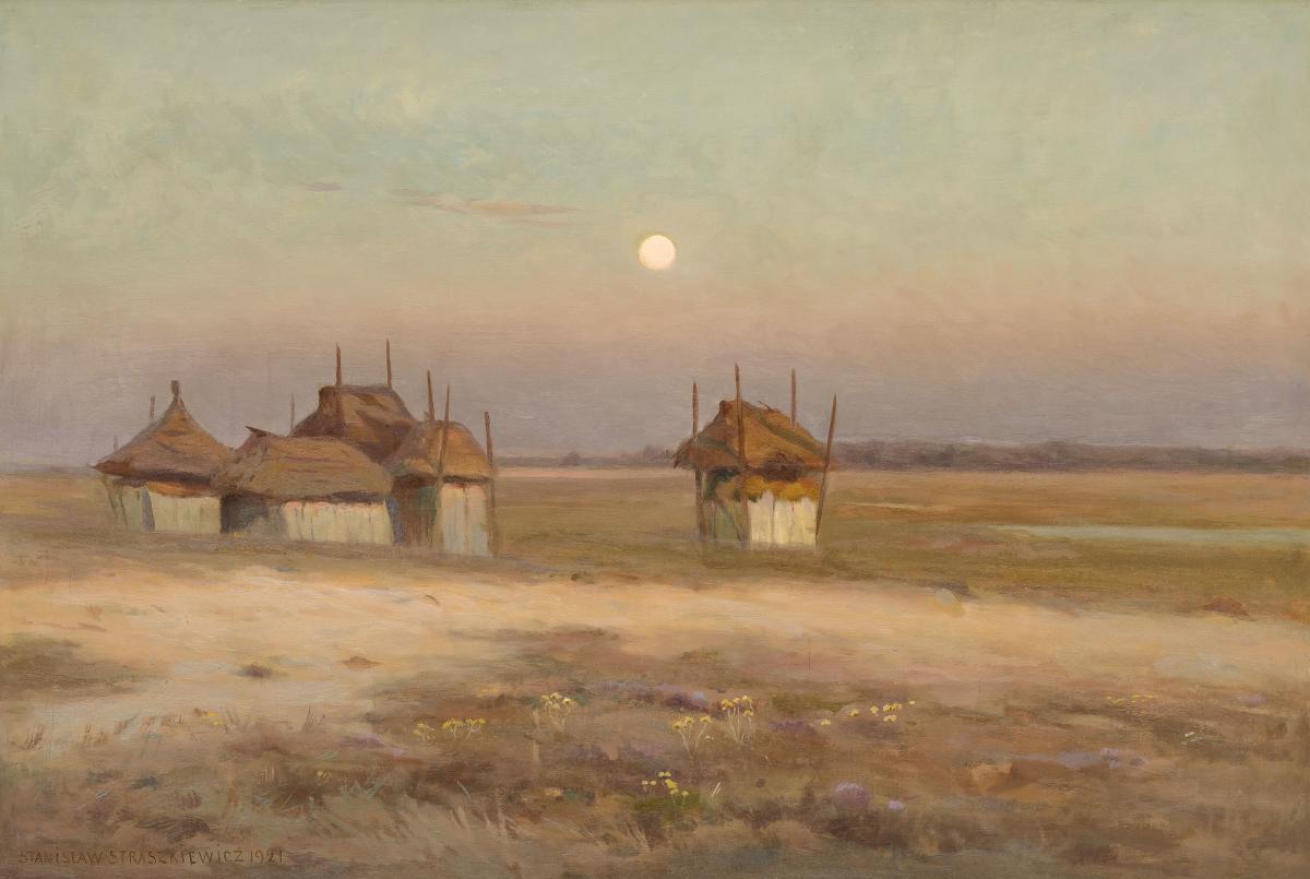 O wschodzie, 1921 r.