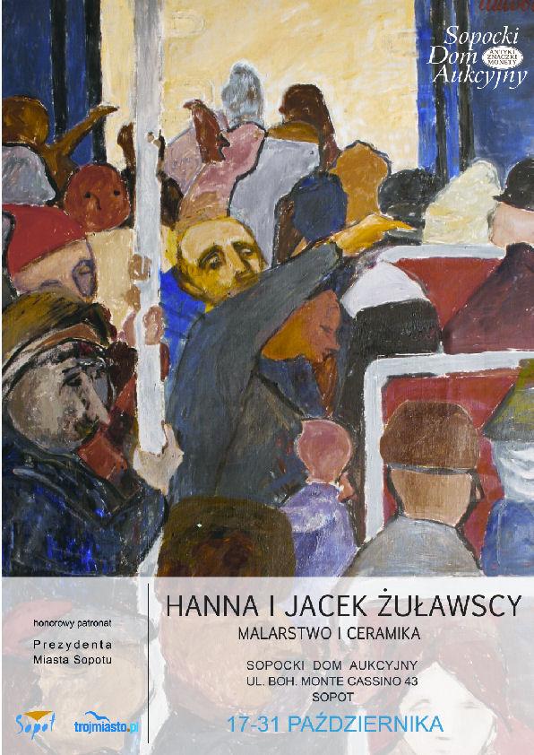 Hanna i Jacek Żuławscy. Malarstwo i Ceramika