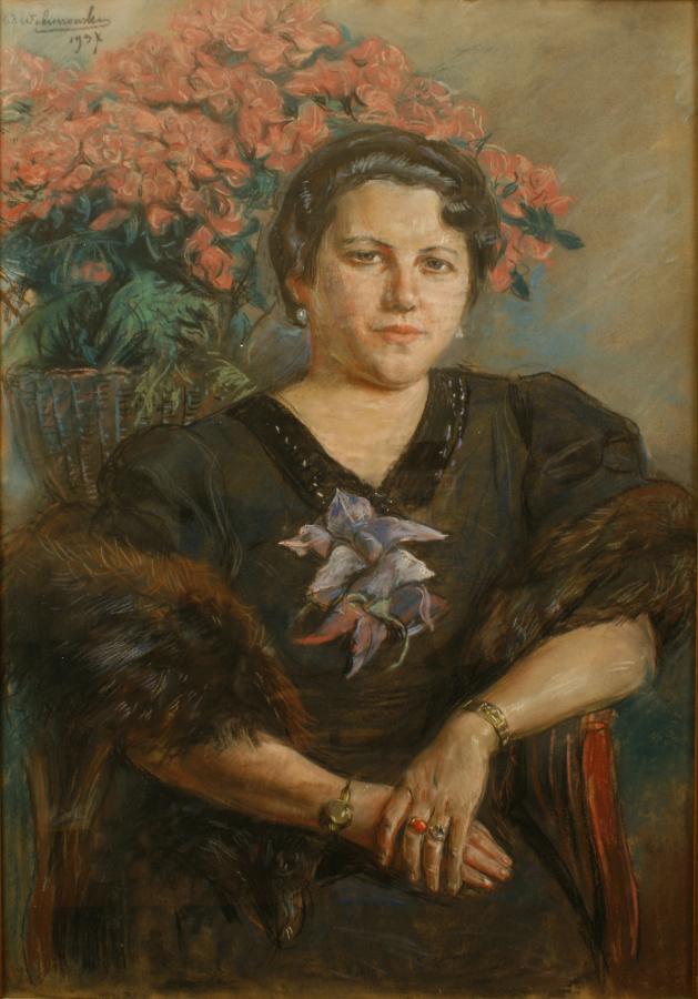 Portret kobiety - Helena Mond