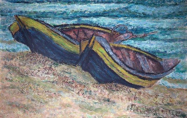 Łodzie, 1957 r.
