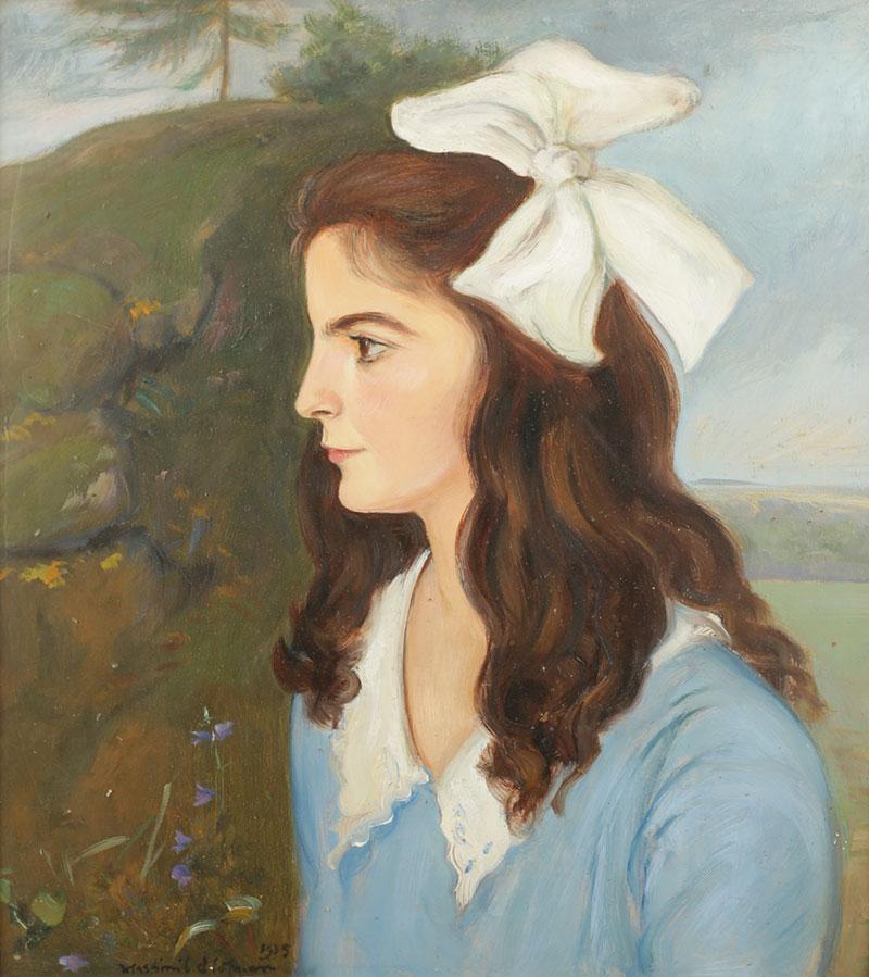 Portret dziewczynki, 1935 r.