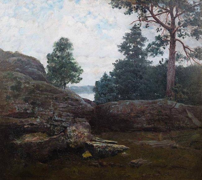 Pejzaż, 1902 r.