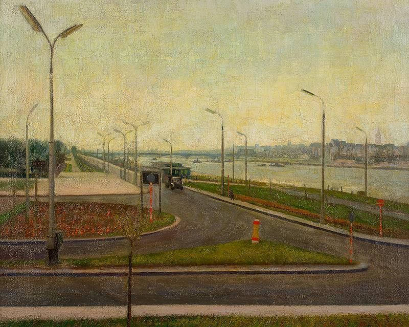 Krajobraz warszawski - Wybrzeże helskie, ok. 1950 r.