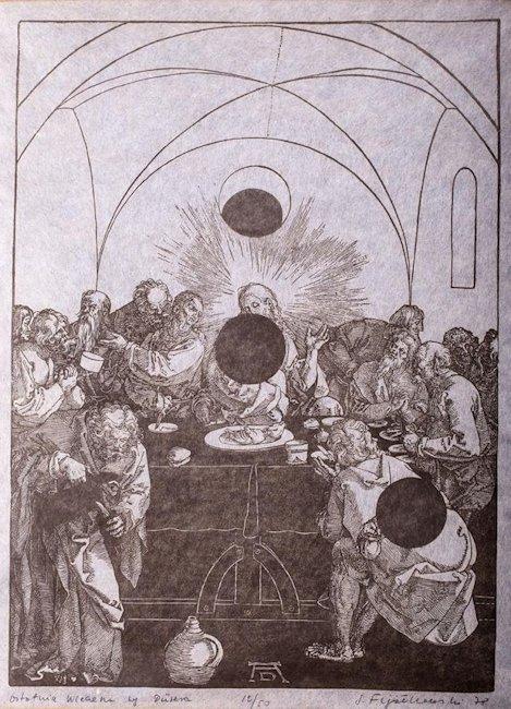 Ostatnia Wieczerza wg. Dürera, 1978