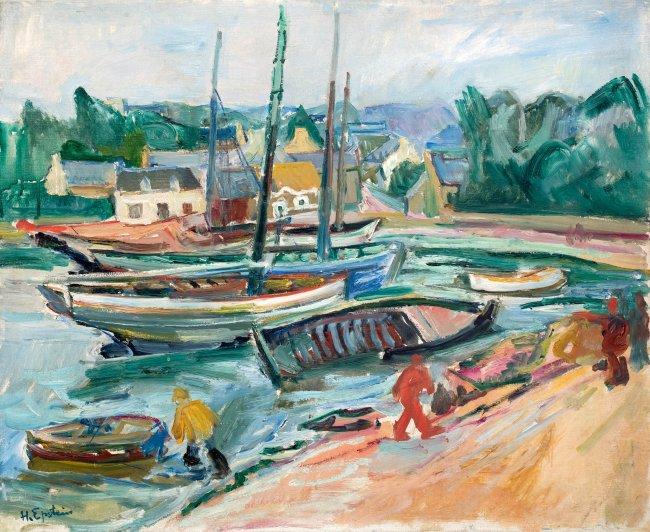 Henryk Epstein | W małym porcie, ok. 1925–1930