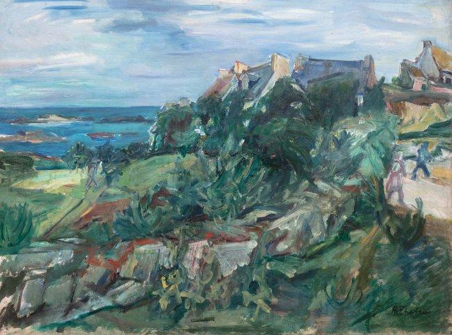 Henryk Epstein | Pejzaż z Bretanii, lata 30-te XX w.