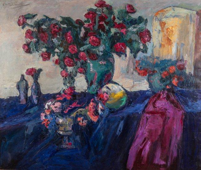 Włodzimierz Terlikowski | Martwa natura z różami