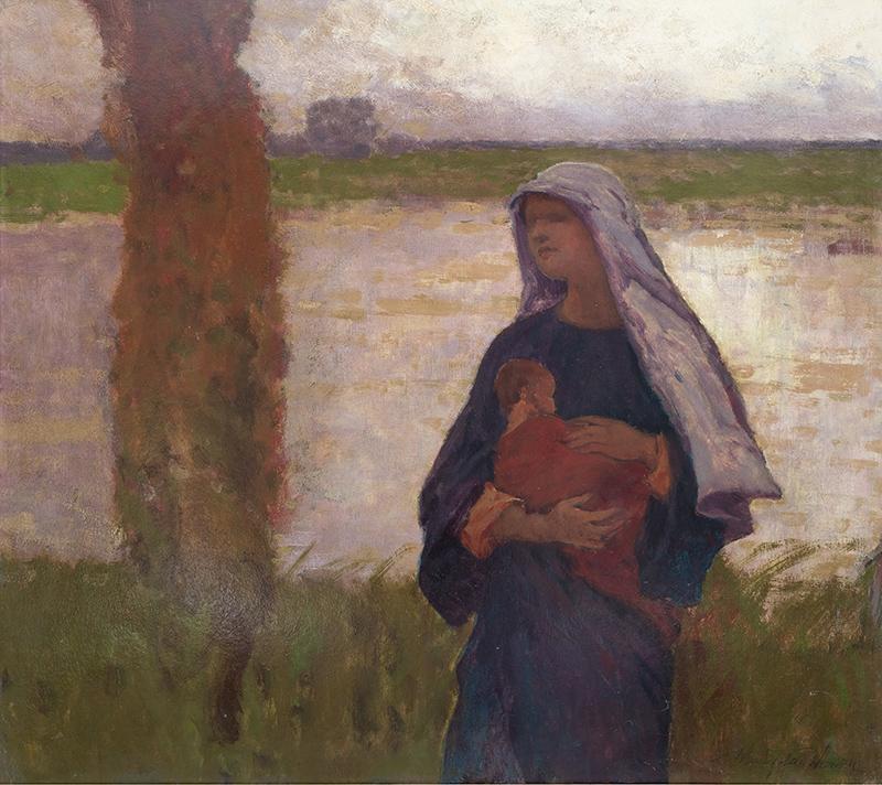 Władysław Wankie   Madonna, ok. 1917 r.