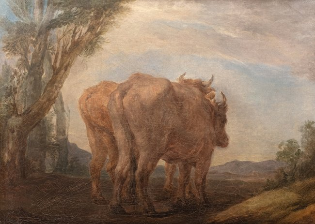 Marcello Bacciarelli | Studium wołów, ok. 1805 r.