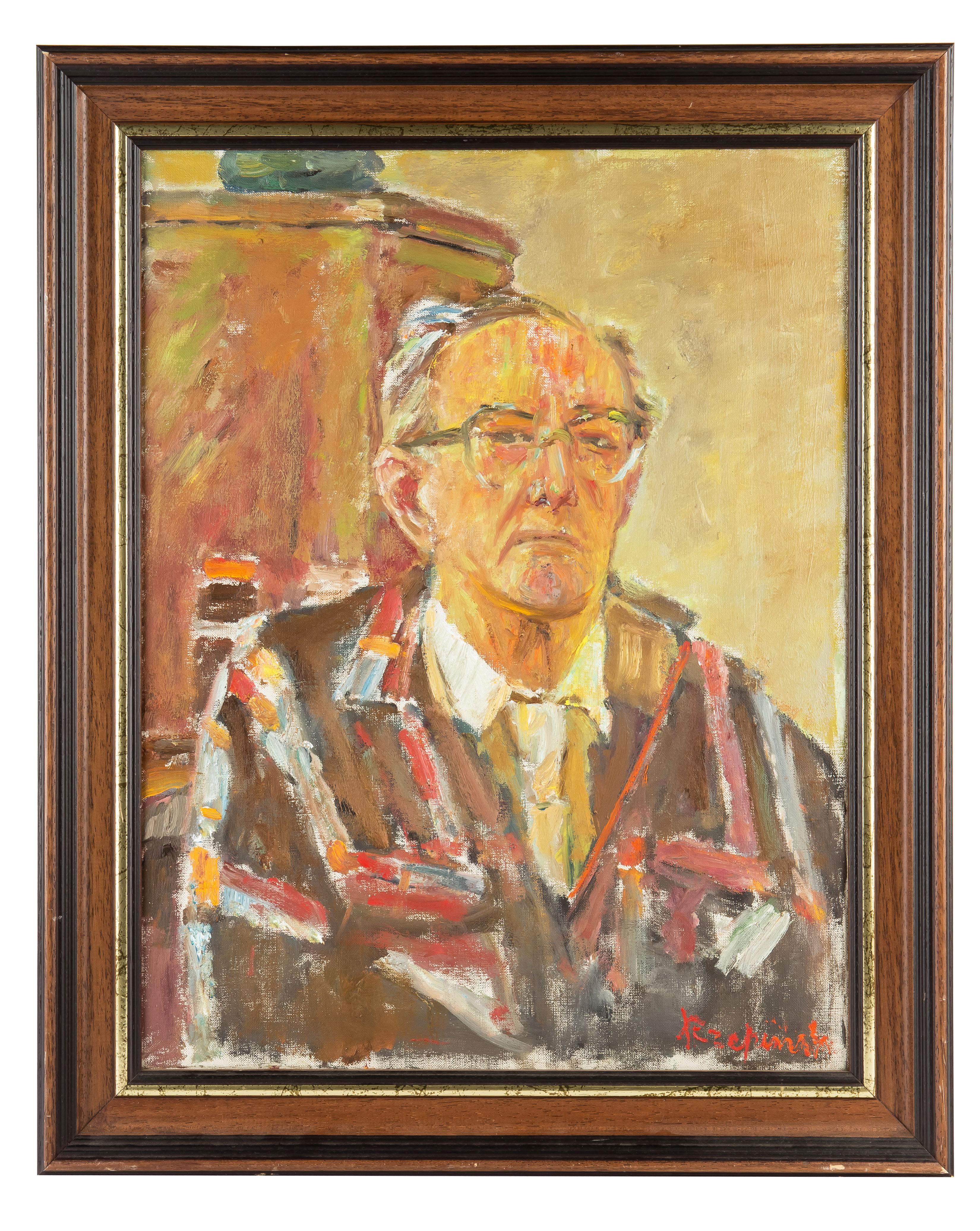 Czesław Rzepiński   Autoportret