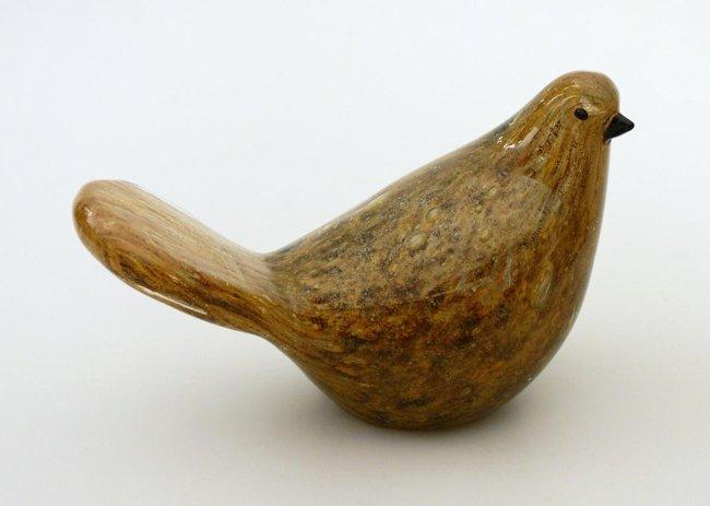 Figurka gołębia ?Aborigeni?, Murano
