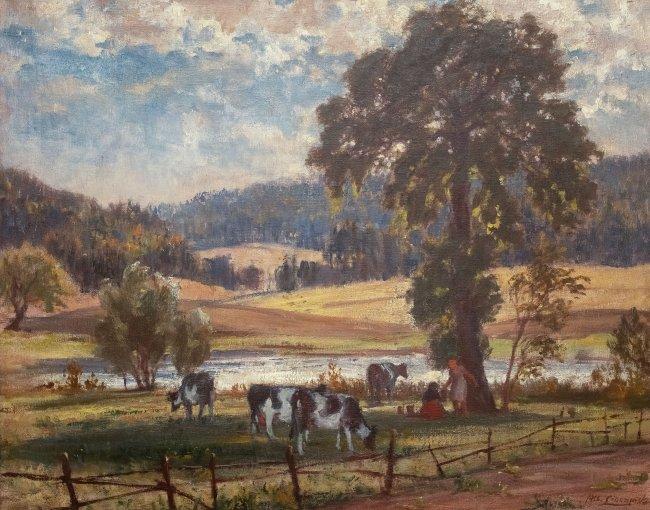 Albert Lipczinski   Pejzaż