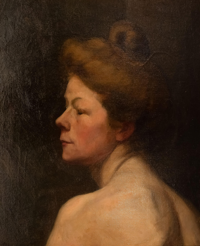 MN | Portret kobiety z kokiem