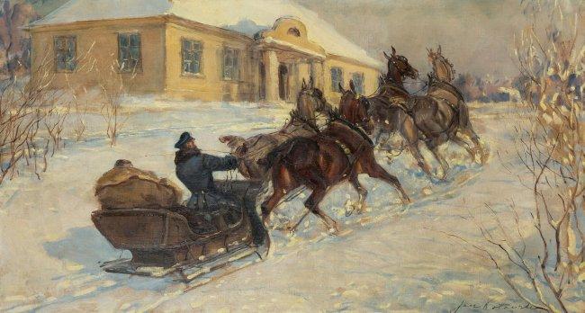 Jan Erazm Kotowski   Powrót do dworu
